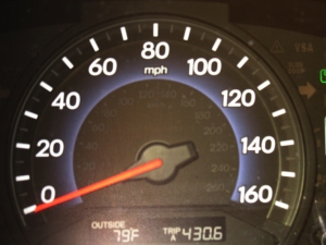 Speedometer small version
